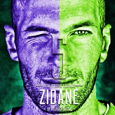 Zidane Poster Photographic Paper
