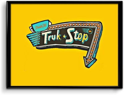 Truk Stop Canvas Art
