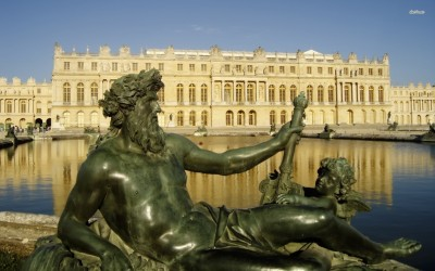 Athah Fine Quality Palace of Versailles poster Paper Print