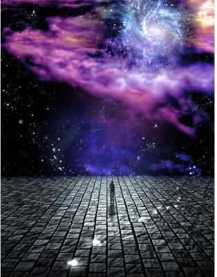 Man's Journey Of The Soul Premium Poster Canvas Art