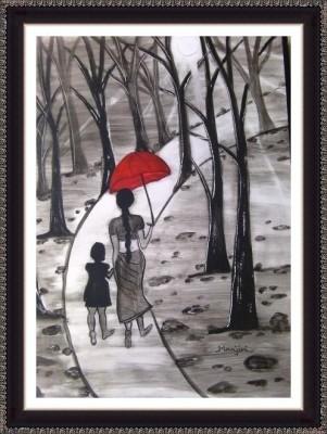 Walking In Sunshine - ArtsNyou Printed Paintings Canvas Art