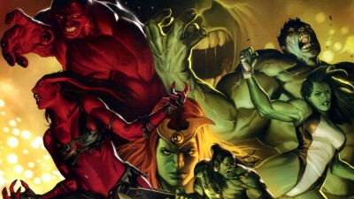 Hulk She-Hulk Frameless Fine Quality Poster Paper Print