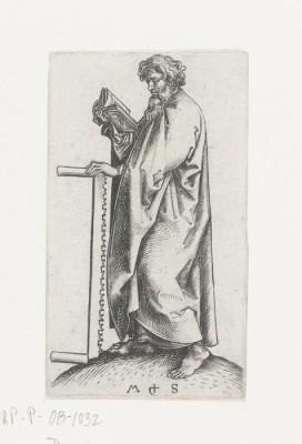 The Museum Outlet Apostle Simon 1. 1470-1490 (Medium) Canvas Painting