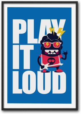 Athah Poster Play It Loud Paper Print
