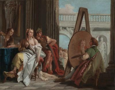 Framed Belisarius by Baron Frana ois Pascal Simon Ga rard French born Italy Fine Art Print