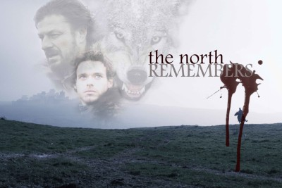 The North Remembers, Ned & Robb Stark Paper Print