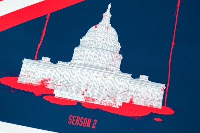 House of Cards - White House Bloodbath - Season 2 Paper Print