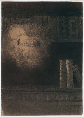 The Museum Outlet The Teeth (Medium) Canvas Painting