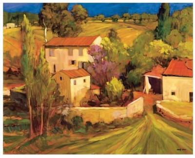 Montage - La Femme en Provence Fine Art Print