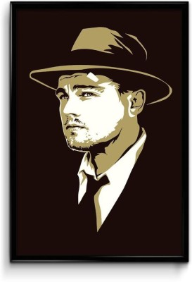 Leo Di Caprio Canvas Art