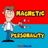 Magnetic Personality Paper Print (12 inc...