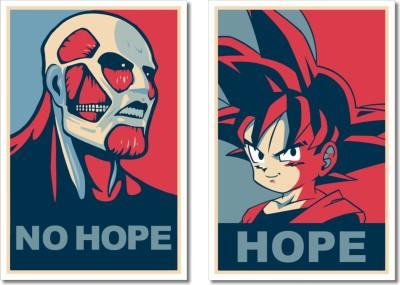 Hope & No Hope - Combo Paper Print