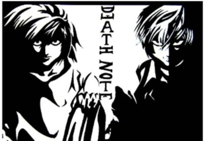 Athah Poster Death Note Artist : Aastha Paper Rolled Paper Print