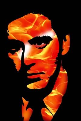Athah Poster Al Pacino Color Paper Print