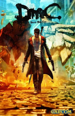 DMC Devil May Cry (A)Poster Paper Print