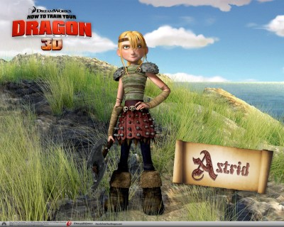 Movie How To Train Your Dragon Astrid HD Wall Poster Paper Print