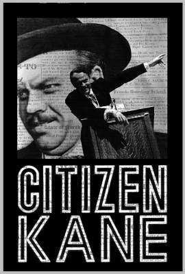 Citizen Kane Paper Print