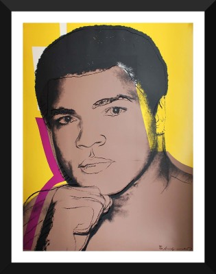 Muhammad Ali Serigraph And Screen Prints #2 by Andy Warhol - Premium Quality A3 Size Framed Poster Paper Print