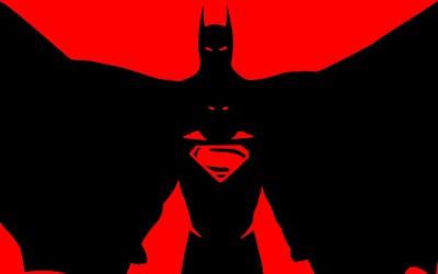 Batman/Superman Batman Robin HD Wall Poster Paper Print