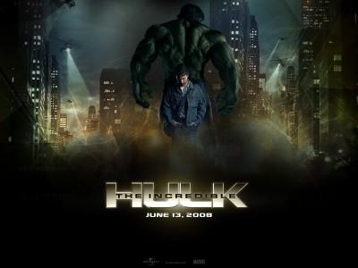 Movie The Incredible Hulk Hulk HD Wall Poster Paper Print