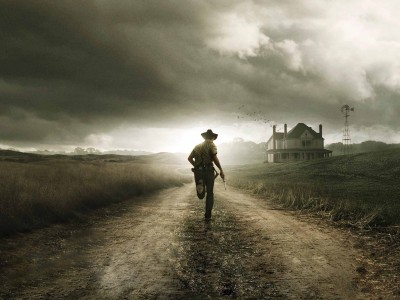 Wall Poster TVShow The Walking Dead Walking Dead Dead Andrew Lincoln Rick Grimes Paper Print