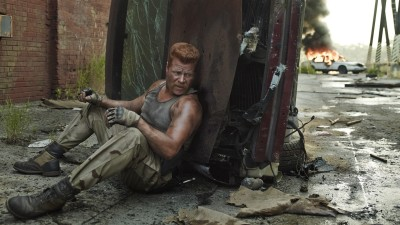 Wall Poster TVShow The Walking Dead Michael Cudlitz Sgt. Abraham Ford Paper Print