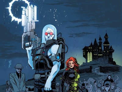 Forever Evil: Rogues Rebellion Mr. Freeze Poison Ivy Riddler HD Wall Poster Paper Print