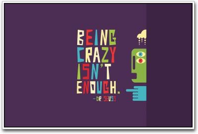 Dr. Seuss Quote Paper Print