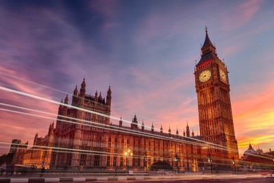 Athah Poster Westminster Palace - Elizabeth Tower Paper Print