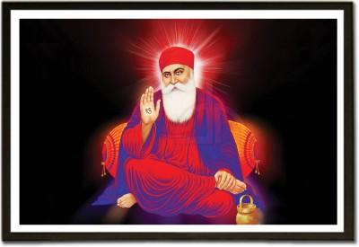 Framed Satnam Shri Wahe Guru Ji Fine Art Print