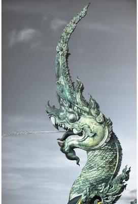 Phaya Naga Unframed Art Print Canvas Art