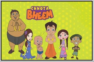 Chotta Bheem Poster Paper Print