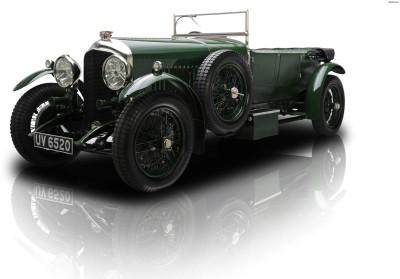 Athah 1928 Bentley 4.5 Litre Semi-Le Mans Sports Tourer Poster Paper Print