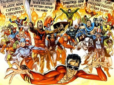 DC Plastic Man Wall Poster Paper Print