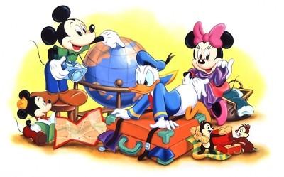 Disney Cartoon Paper Print