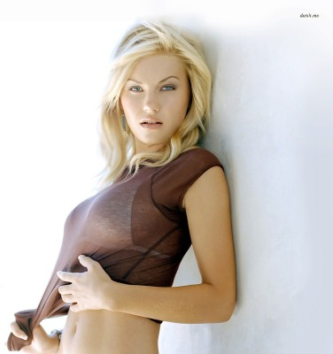 Elisha Cuthbert Athah Fine Quality Frameless Poster Paper Print