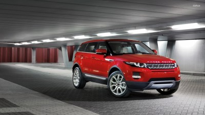 Athah 2015 Land Rover Range Rover Evoque in a tunnel Poster Paper Print