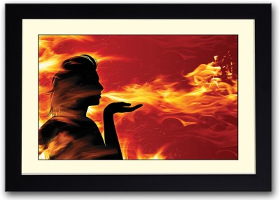 Dragon Girl artistic Fine Art Print