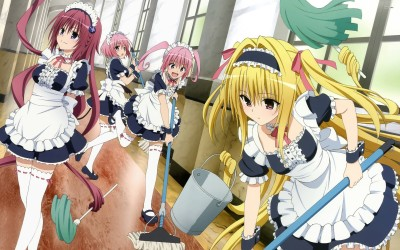 To Love-Ru Athah Fine Quality Poster Paper Print