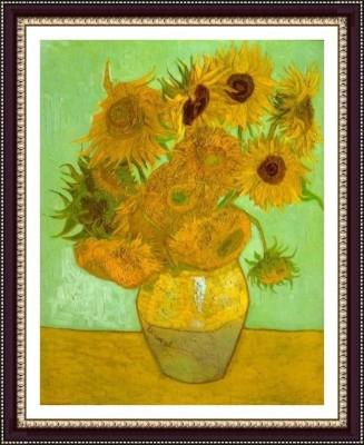 Twelve Sunflowers - ArtsNyou Printed Paintings Canvas Art