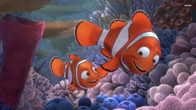 Movie Finding Nemo Clownfish HD Wall Poster Paper Print