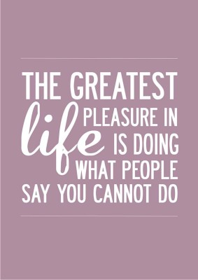 Life Motivational Quote - Pleasure A4 NON TEARABLE High Quality Printed Poster - Wall Art Print (Size : 8.2 x 11.6) , For Bedroom , Living Room, Kitchen, Office, Room Paper Print