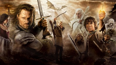 Movie The Lord Of The Rings: The Return Of The King The Lord Of The Rings HD Wall Poster Paper Print