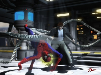 Spider-Man Spider Doctor Octopus HD Wall Poster Paper Print