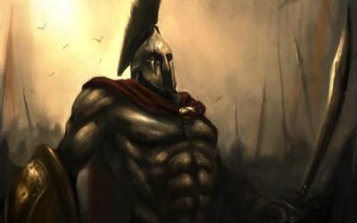 Movie 300 Spartan Sword Shield Helmet Cloak Red Shakugan No Shana HD Wall Poster Paper Print