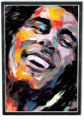 Bob Marley Framed Poster 12 By 18 Inches Fine Art Print