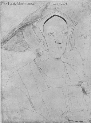 The Museum Outlet Portrait of Margaret, Marchioness of Dorset. 1532-35 (Medium) Canvas Painting