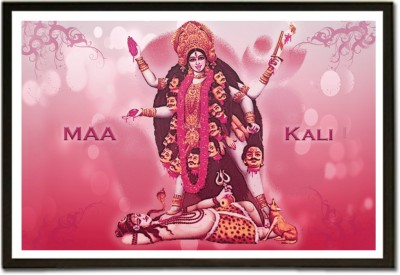 Framed Jai Maa Kaali Fine Art Print