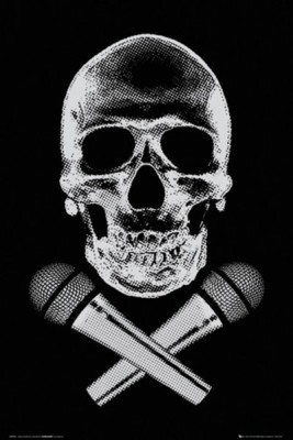 Steez Skull Paper Print