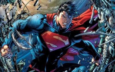 Superman: Unchained Superman Frameless Fine Quality Poster Fine Art Print